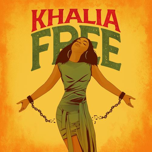 01 Khalia Free K licious Music 2021 PROMOTIONAL COPY mp3 image